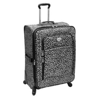 Amelia Earhart Safari Collection 28-inch Expandable Spinner Upright Suitcase