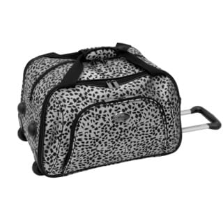 Amelia Earhart Safari Collection 19-inch Rolling International Carry-on Duffel Tote Bag