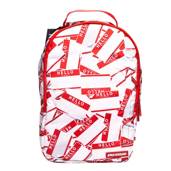 SprayGround Deluxe Hello Friends Backpack