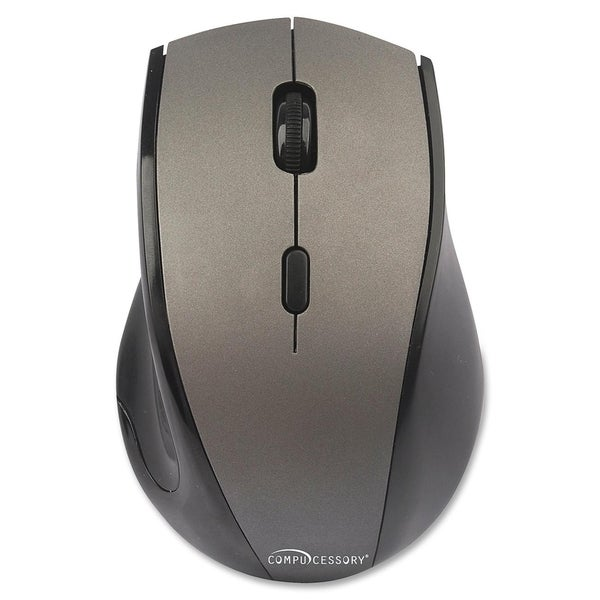 Compucessory Wireless Mouse, 2.4G, Gray - 1/EA