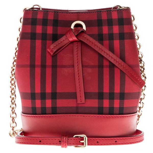 Burberry Baby Bucket Bag in Overdyed Horseferry Check