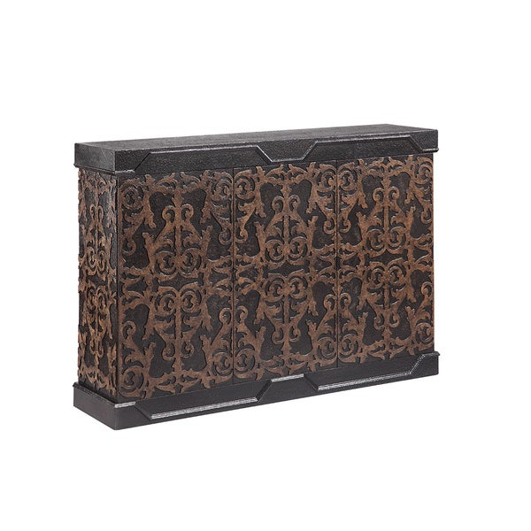 Bravado Black Accent Cabinet