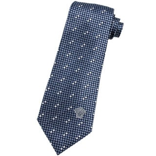 Versace Multicolored Italian Silk 3-inch Wide Neck Tie