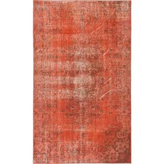 ecarpetgallery Color Transition Orange Wool Rug (3'10 x 6'4)