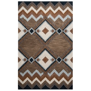 Rizzy Home Tumble Weed Loft Collection TL9147 Area Rug (9' x 12')