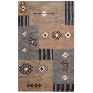 Rizzy Home Tumble Weed Loft Collection TL9251 Area Rug (9' x 12')