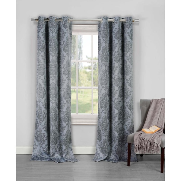 Phelan Blackout Grommet Curtain Panel Pair