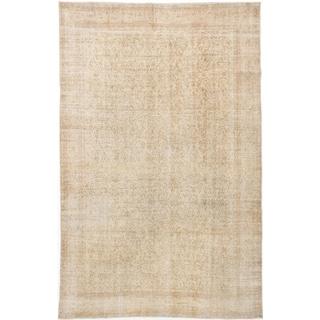 ecarpetgallery Anatolian Sunwash Beige Wool Rug (6'3 x 9'10)