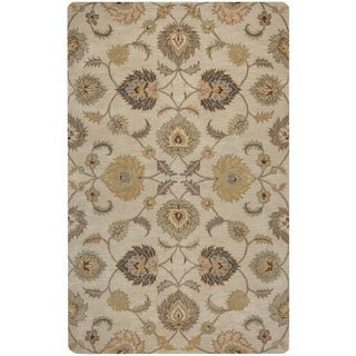 Rizzy Home Valintino Collection Tan/ Rust Area Rug (9' x 12')