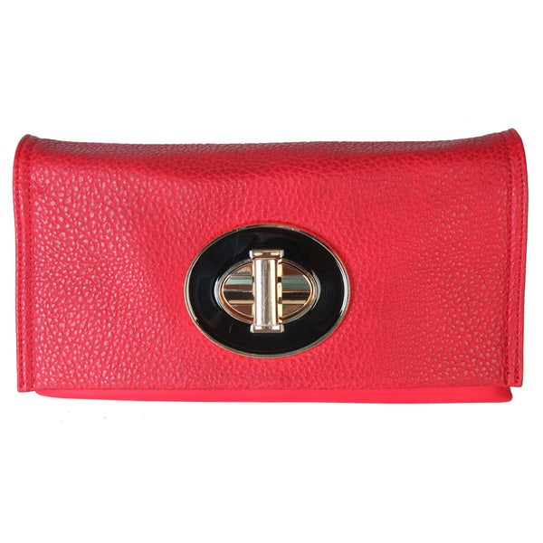 Diophy Crossbody Turn Lock Handbag