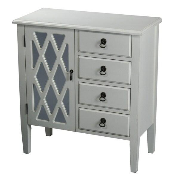 4-Drawer Wood Cabinet