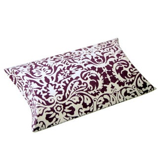 Set of 10 Amethyst Pillow Boxes (India)