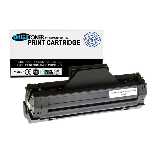 Compatible Dell B1160 B1163 B1165 YK1PM Black Toner Cartridge (HF44N)