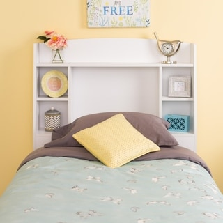 Bella Twin Headboard, White