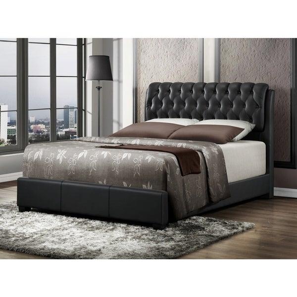 LYKE Home Nobel Black Bi-cast King Bed