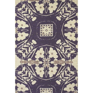 Feizy Abstract Verapaz Hand-woven Rug (8' x 11')
