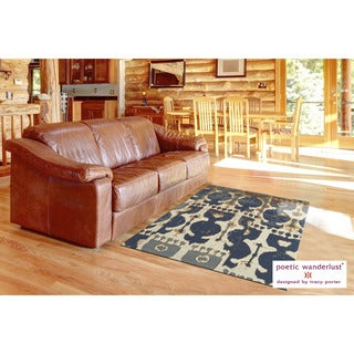 Feizy Verapaz Hand-woven Abstract Rug (8' x 11')