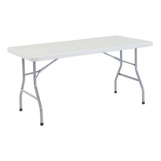 Plastic Folding Table, 30 x 60 15 Pack
