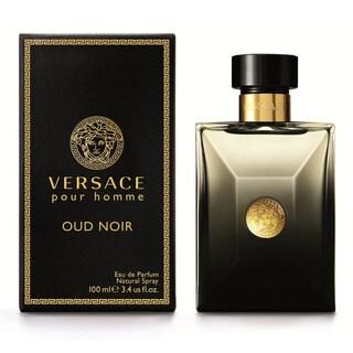Versace Pour Homme Oud Noir Men's 3.4-ounce Eau de Parfum Spray