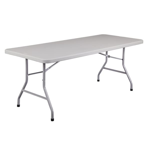 Plastic Folding Table, 30 x72 20 Pack