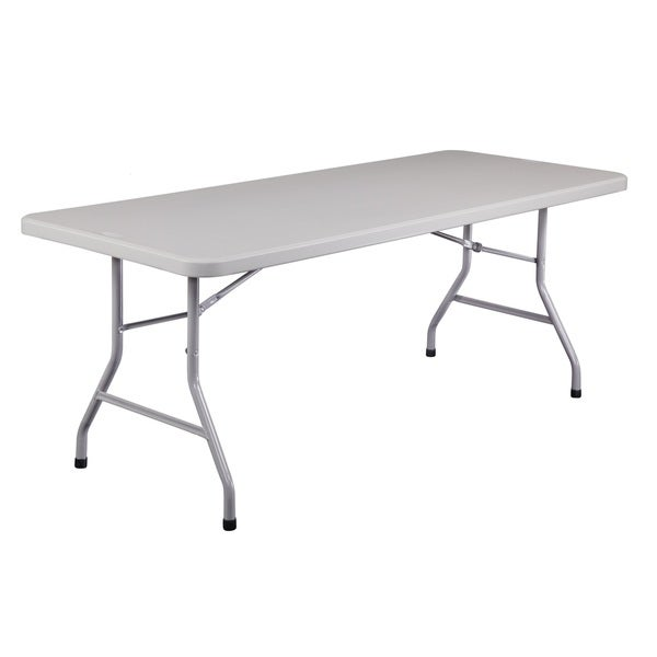 Plastic Folding Table, 30 x72 30 Pack