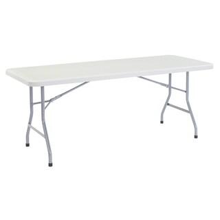 Plastic Folding Table, 30 x72 15 Pack