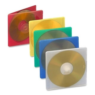 Compucessory Extra Thin CD/DVD Jewel Case - Pack of 50