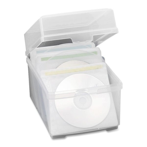 Compucessory CD/DVD Storage Box - 1/EA