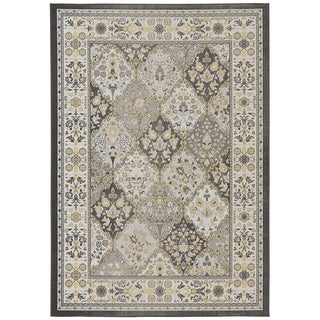 Grand Bazaar Lemon Seymour Power Loomed Rug 5 X 8