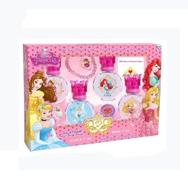 Disney Princess Girl's 8-piece Beauty Set