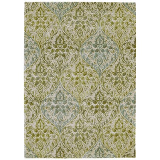 Grand Bazaar Sage Farrell Power-loomed Rug (9'2 x 12'2)