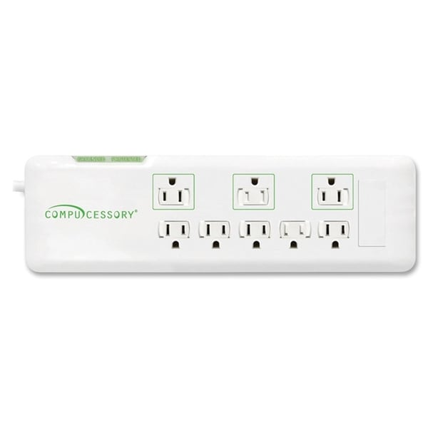 Compucessory 2160 Joules 8-Outlet Surge Protector - 1/EA