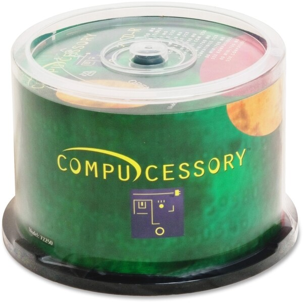 Compucessory CD-r Recordable Media 52x 700 MB - Pack of 50