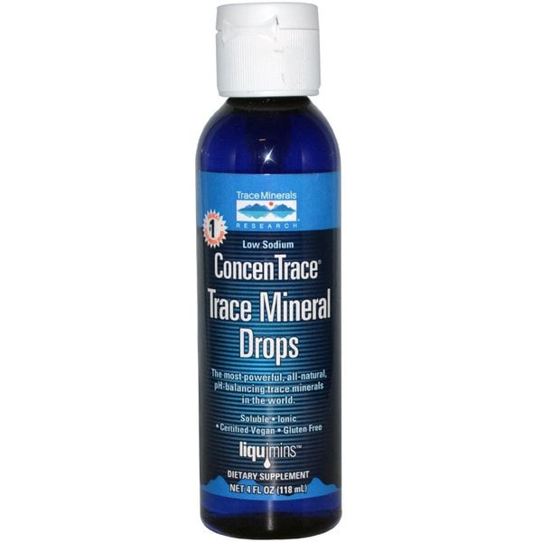 Trace Minerals Research 4-ounce Concentrace Drops