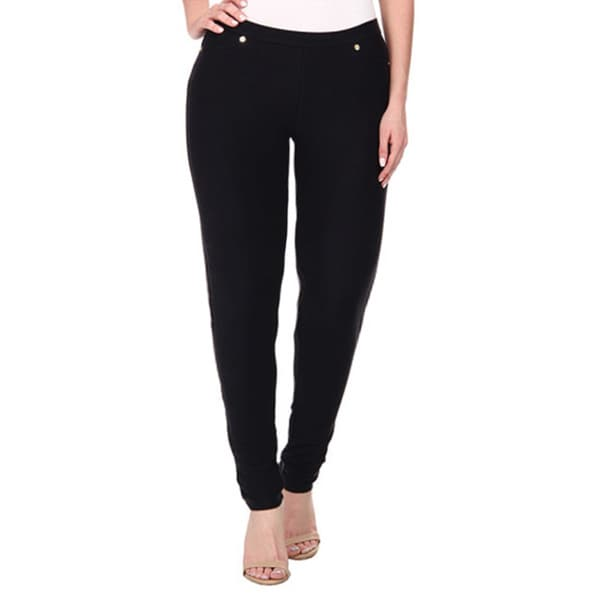 Dinamit Women's Plus Super Soft Pants Ultra Stretch with 5 Pockets (Size 3X)