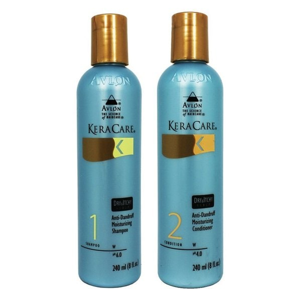 Avlon Keracare 8-ounce Dry & Itchy Scalp Shampoo and Conditioner Duo
