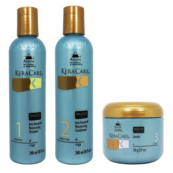 Avlon Keracare Dry & Itchy Scalp Moisturizing 3-piece Set