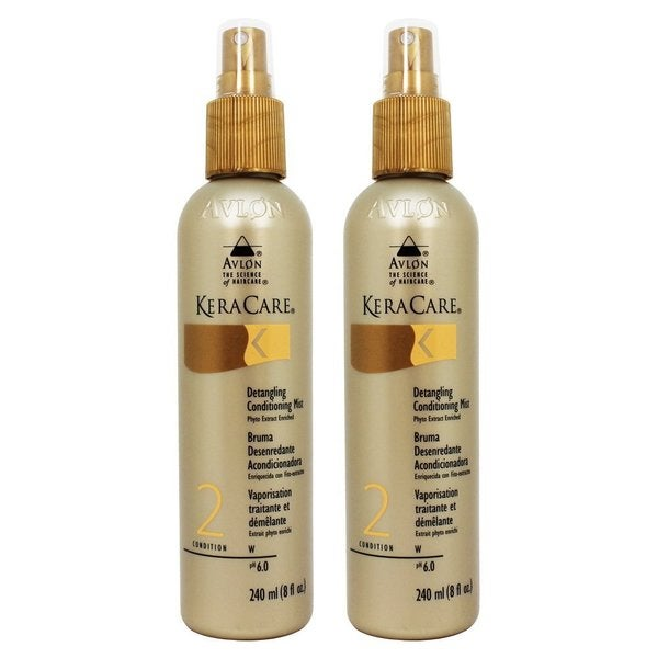 Avlon KeraCare 8-ounce Detangling Conditioning Mist (Pack of 2)