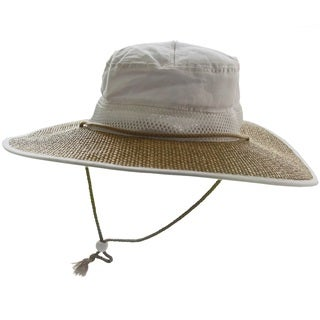 Bughat Unisex White Sun/ Bug Protection Garden Hat