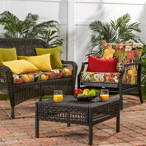 Greendale Deep Seat Outdoor Cushion Set