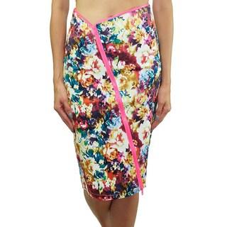 Relished Women's Pop Floral Pencil Skirt
