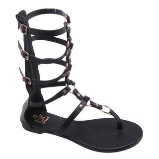 Beston FA54 Women's Strappy Gladiator Sandal