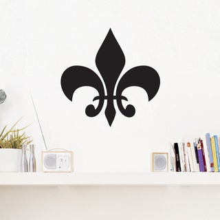 Fleur De Lis Medium Wall Decal