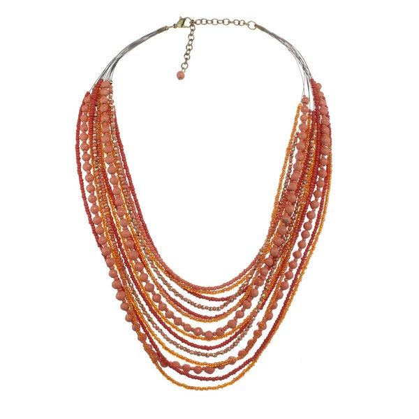 Alexa Star Layered Bead Necklace