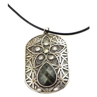 Mama Designs K-105 Handmade Ornate Charm Style Necklace