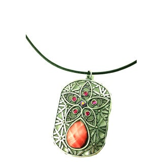 Mama Designs K-110 Handmade Ornate Charm Style Necklace