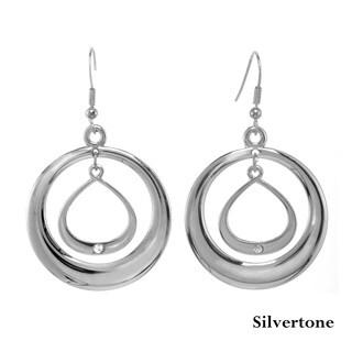 Alexa Starr Double Inner Ring Drop Earrings