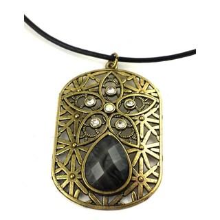 Mama Designs K-108 Handmade Ornate Charm Style Necklace
