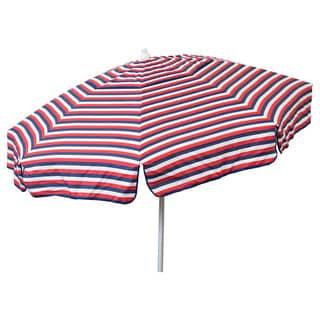 Euro 6ft Umbrella TriColor Stripe