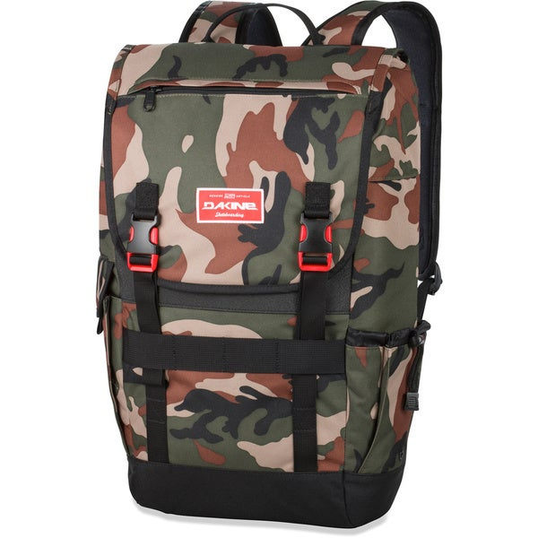 Dakine Ledge Camo 25L 17-inch Laptop Skate Backpack